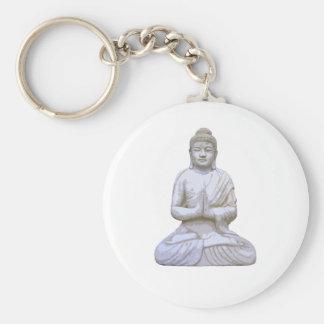 Buddha Sitting ~ Buddhist Buddhism Key Chain