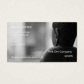 Buddha Sitting in Meditation Business Card