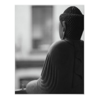 Buddha Sitting in Meditation Card