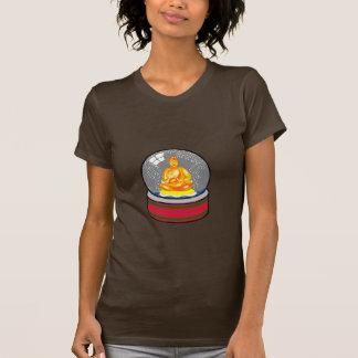 Buddha Snow Globe Tee Shirts