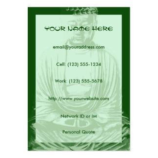 Buddha Spirit Within Large Profile Business Cards