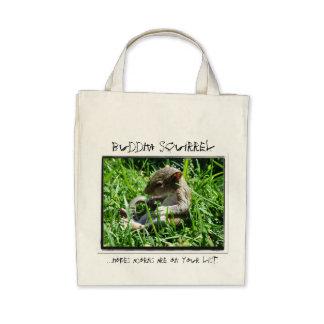 Buddha Squirrel Errand Bag