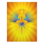 Buddha Star 3D Postcards