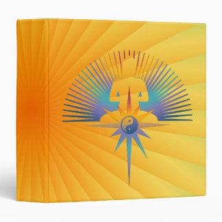 Buddha Star 3D Vinyl Binder