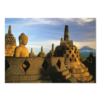 Buddha Statue and Stupas, Borobudur Temple Announcements