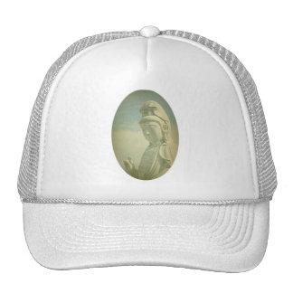 Buddha Statue Antiqued Mesh Hat