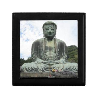 Buddha Statue Buddhism Jewelry Box