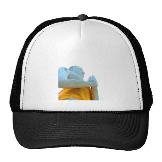 Buddha statue trucker hat