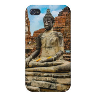Buddha Statue in Ayutthaya Cover For iPhone 4