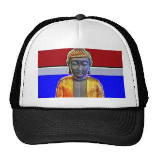 Buddha Statue in Gold by Sharles Hat