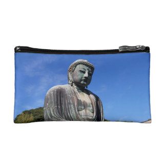 Buddha Statue in Kamakura, Japan Makeup Bag