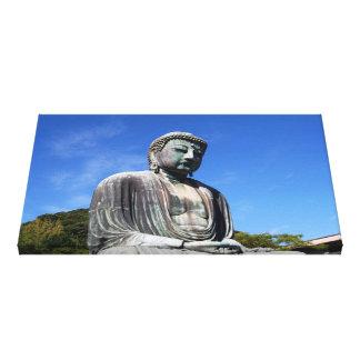 Buddha Statue in Kamakura, Japan Canvas Print