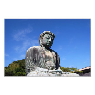 Buddha Statue in Kamakura, Japan Photo Print