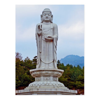 Buddha statue in South Korea, Asia Postcard