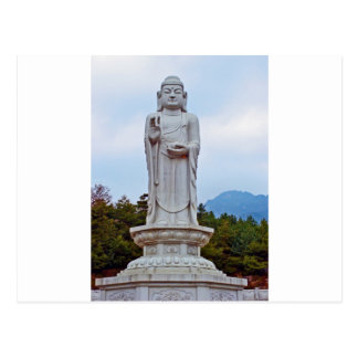 Buddha statue in South Korea, Asia Postcard