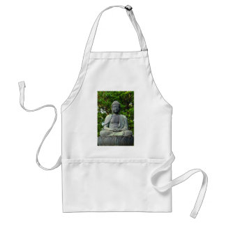 Buddha statue in Tokyo, Japan Adult Apron