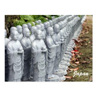 buddha statue lines postcards