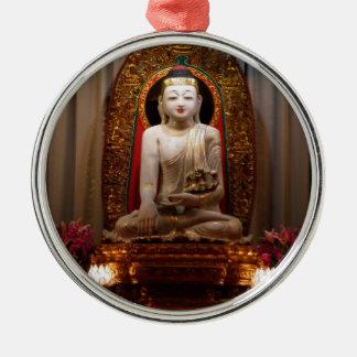 Buddha Statue  Lotus position Tibetan Metal Ornament