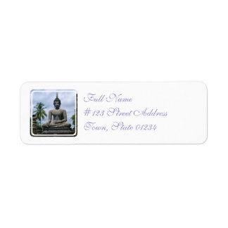 Buddha Statue Mailing Labels