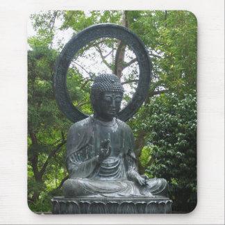 Buddha Statue Mouse Pad