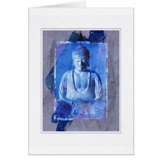 Buddha Statue Picture Card
