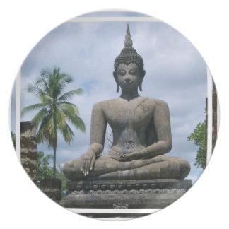 Buddha Statue Plate