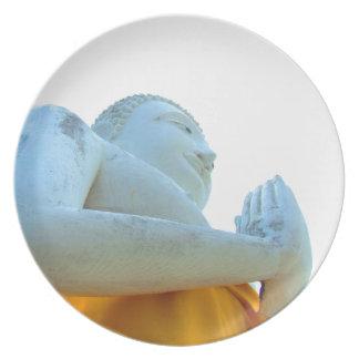 Buddha statue plates