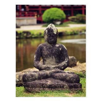 Buddha Statue Postcard
