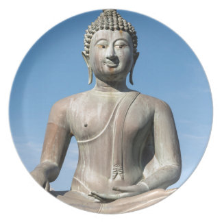 Buddha Statue, Sri Lanka Plate