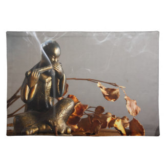 Buddha Statue with Incense Placemat