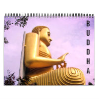buddha statues 2021 calendar