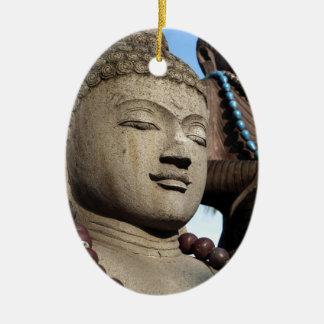 Buddha statues ceramic ornament