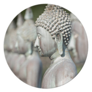 Buddha Statues, Colombo, Sri Lanka Dinner Plate