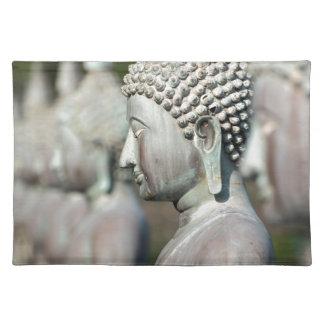 Buddha Statues, Colombo, Sri Lanka Placemat