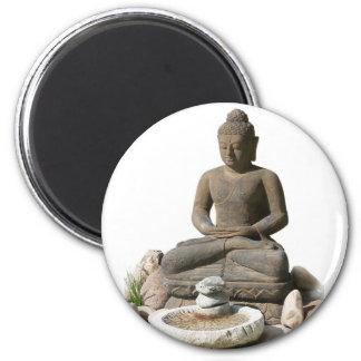 Buddha Statute (White Background) Magnet