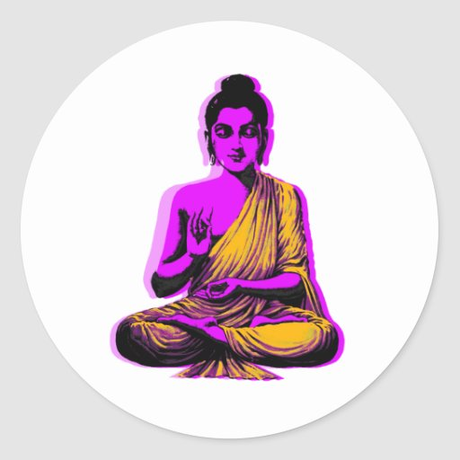 Buddha Stickers