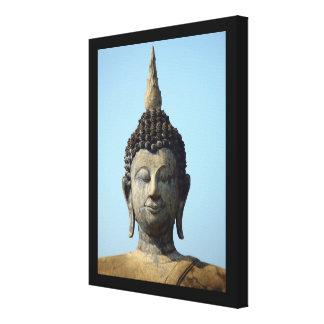 Buddha Sukhothai Thailand Wrapped Canvas Print