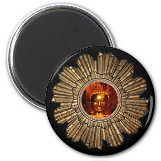 Buddha Sun Black magnet