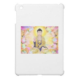 Buddha Surrounded by Flowers iPad Mini Case