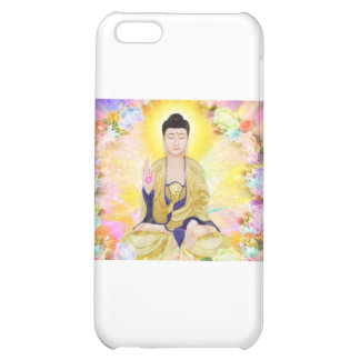 Buddha Surrounded by Flowers iPhone 5C Covers