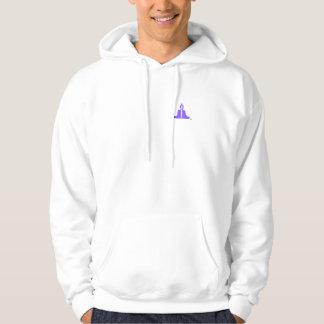 Buddha sweatshirt in Purple