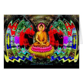 Buddha Swirl - Card