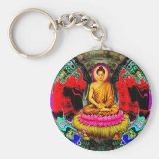 Buddha Swirl - Keychain