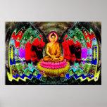 Buddha Swirl - Poster