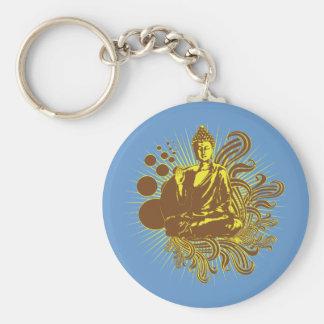 Buddha Swirls Keychain