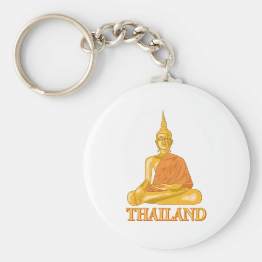 Buddha Thailand Keychain