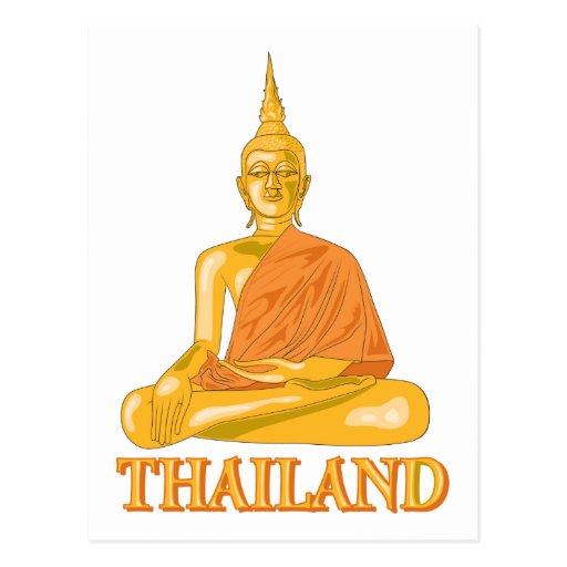 Buddha Thailand Post Card