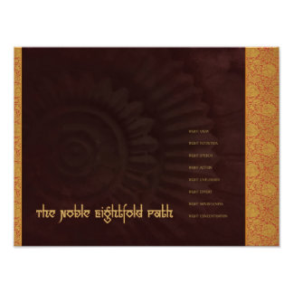 Buddha: The Noble Eightfold Path, print