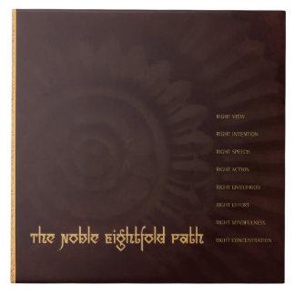 Buddha: The Noble Eightfold Path, tile