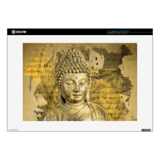 "Buddha The Noble Truths Decals For 15"" Laptops"
